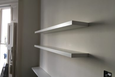 SHELF INSTALLATION